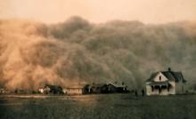 خاکی که به توفان تبدیل شد