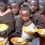 کودکان گرسنه آفریقا