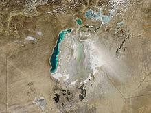 توفان شن در دریای خوارزم