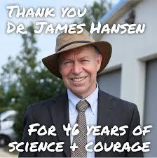 پروفسور جیمز هانسن دانشمند ناسا، اول بار او مساله گرم شدن کره زمین را طرح کرد