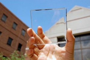 سلول خورشیدی کاملا شفاف که به جای شیشه به کار می رود