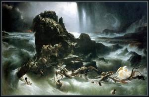 تصویری از اسطوره طوفان بزرگ