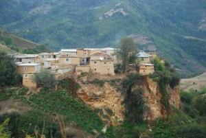 روستای قلقافه در مینو دشت