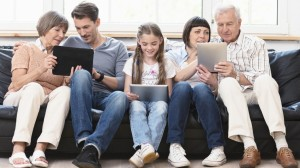 family-generation-tablet-social-network