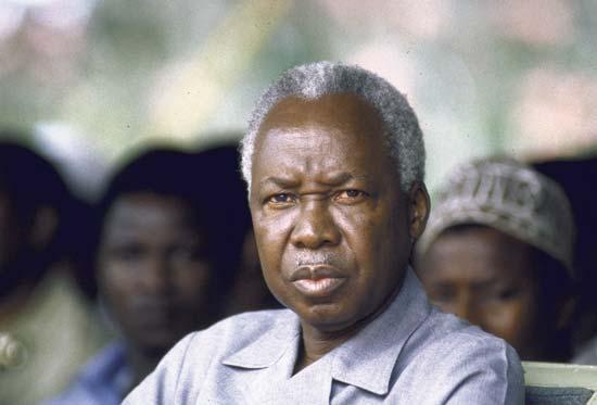 جولیوس نایرره رئیس جمهور تانزانیا