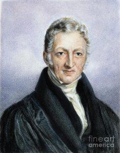 توماس رابرت مالتوس (Thomas Robert Malthus) 