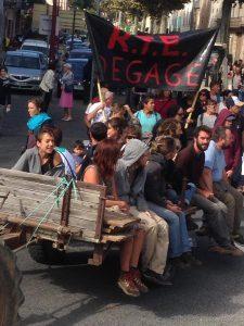 تظاهرات سنت آفریک