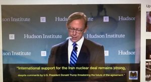 برایان آردرن، رییس گروه اقدام ایران